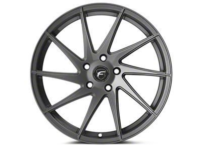 Forgestar F10D Gunmetal Direction Wheel - Driver Side - 19x10 (15-19 All)