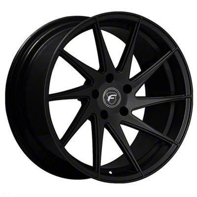 Forgestar F10D Piano Black Direction Wheel - Driver Side - 19x10 (15-19 GT, EcoBoost, V6)