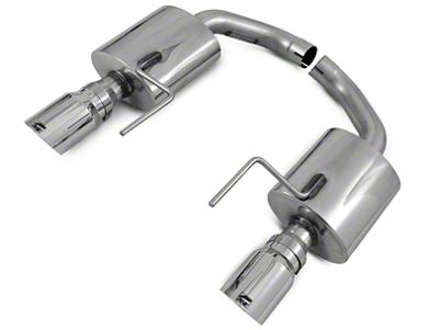 AWE Touring Edition Axle-Back Exhaust w/ Chrome Silver Tips (15-17 GT)