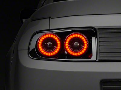 Raxiom Dual Halo LED Tail Lights (13-14 All)