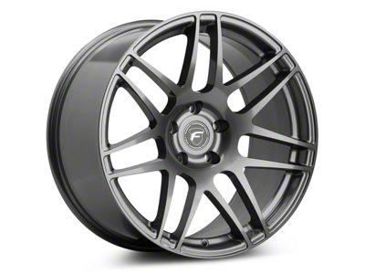 Forgestar F14 Drag Edition Gunmetal Wheel - 15x3.75 - Front Only (05-10 GT, V6)