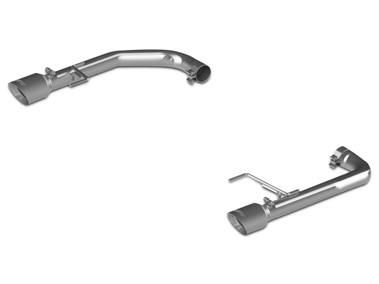 MBRP Pro Series Muffler Delete Axle-Back Exhaust (15-17 GT)