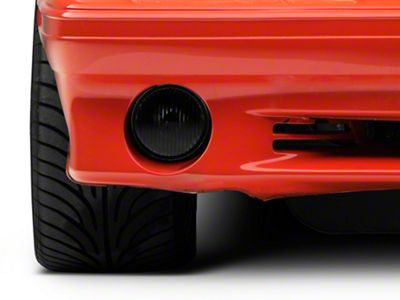 Axial Smoked Fog Light - Factory Style Lens (87-93 GT, Cobra)