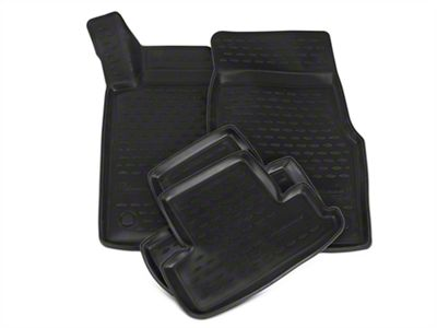 Westin Profile Front & 2nd Row Floor Mats - Black (11-14 All)