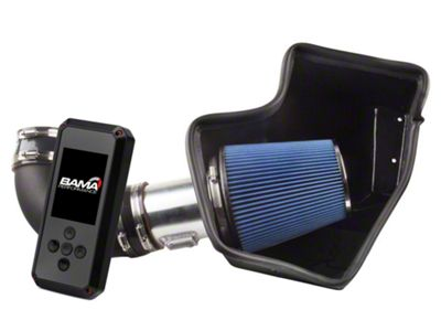 Steeda ProFlow Cold Air Intake & Bama Rev-X Tuner (15-16 GT)