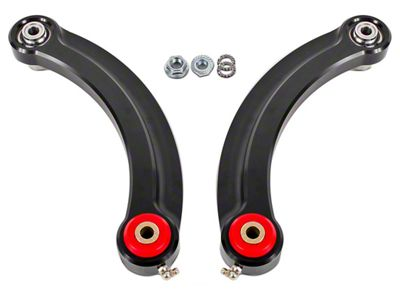 BMR Rear Upper Control Arm Camber Links w/ Polyurethane Bearings - Black (15-19 All)