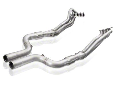 Stainless Works 1-7/8 in. Long Tube Catted Headers w/ XL Leads (15-18 GT w/ SW, MBRP or Corsa Cat-Back)