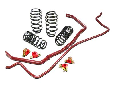 Eibach Pro-Plus Suspension Kit (94-04 V8 Coupe; 99-04 V6 Convertible; Excluding Cobra)