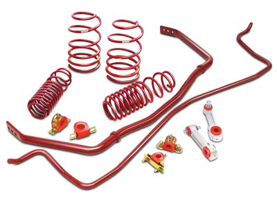 Eibach Sport-Plus Suspension Kit (94-04 V8 Coupe; 99-04 V6 Convertible; Excluding Cobra)