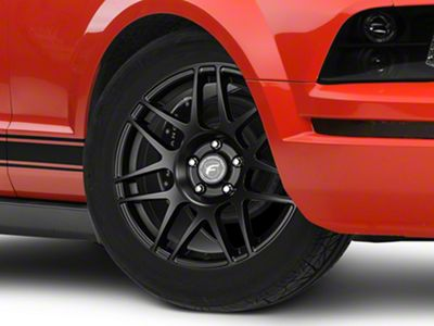 Forgestar F14 Drag Edition Matte Black Wheel - 18x5 - Front Only (05-14 All)
