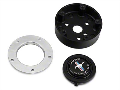 MMD Ford Mustang Tri-Bar Pony Signature Horn Button (84-14 All)