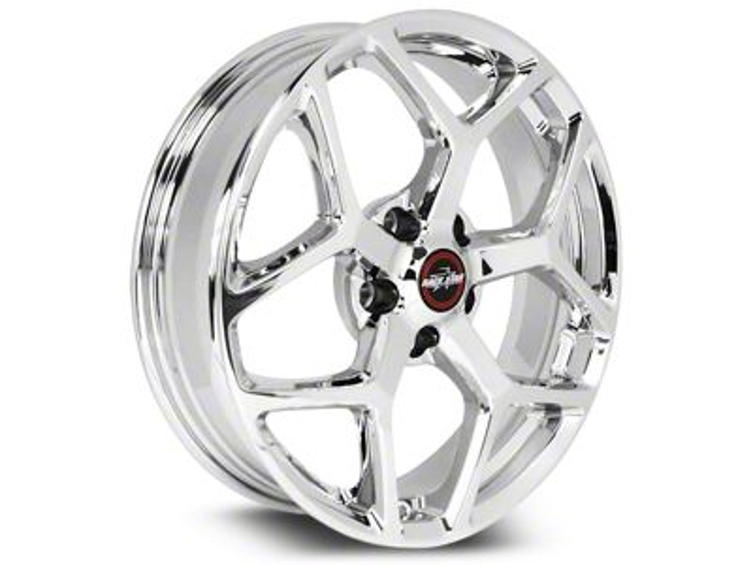Race Star 95 Recluse Chrome Wheel - 18x8.5 (15-19 GT, EcoBoost, V6)