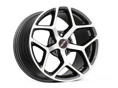 Race Star 95 Recluse Metalic Gray w/ Machined Face Wheel - 17x10.5 - Front Only (05-19 All)
