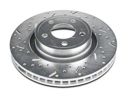 Xtreme Stop Precision Cross-Drilled & Slotted Rotors - Front Pair (15-19 Standard EcoBoost, V6)