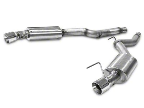 Hurst Elite Series Axle-Back Exhaust (15-19 EcoBoost w/o Active Exhaust)