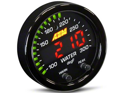 AEM Electronics X-Series Temperature Gauge - Electrical (79-19 All)
