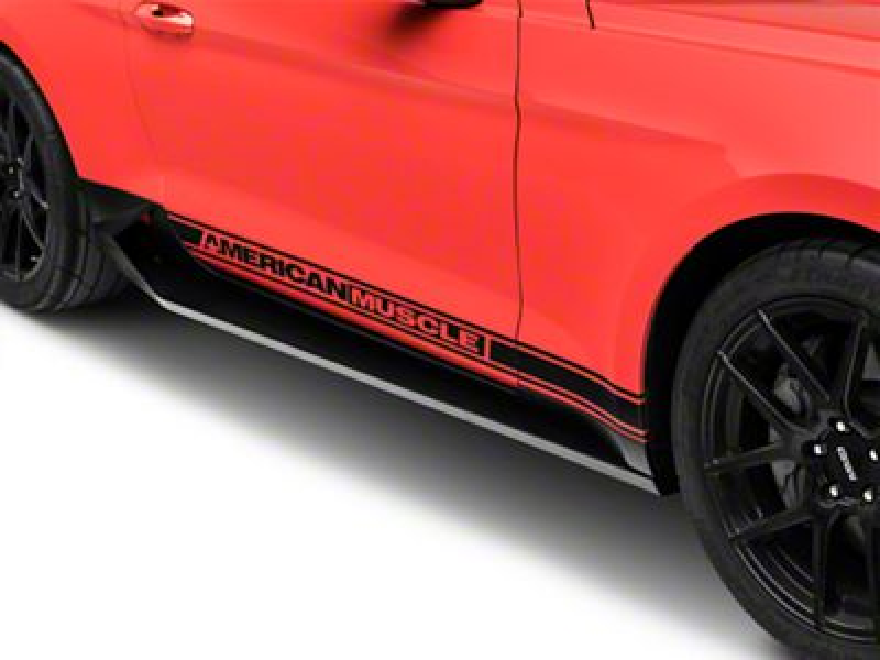 MP Concepts Sport Rocker Panels - Unpainted (15-19 GT, EcoBoost, V6)