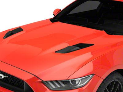 MP Concepts Hood Vent Louvers - Gloss Black (15-17 EcoBoost, V6)