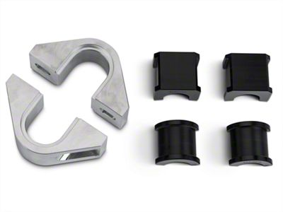 Steeda 1-1/8 in. Front Swaybar Mount Kit w/ Delrin Bushings (15-19 All)