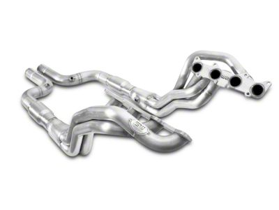 Stainless Works 1-7/8 in. Long Tube Catted Headers - Aftermarket Connect (15-19 GT)
