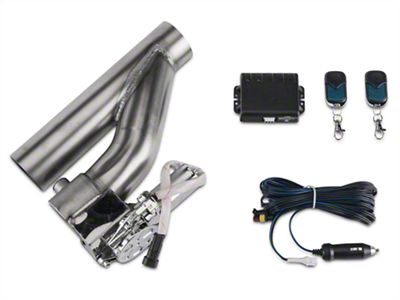 X-Force Electronic Exhaust Cutout Kit - 2.5 in. (79-19 All)