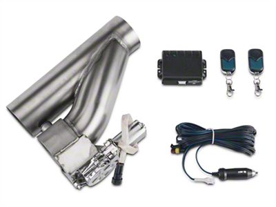 X-Force Electronic Exhaust Cutout Kit - 3 in. (79-19 All)