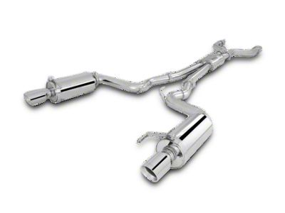 X-Force 3 in. Brushed Cat-Back Exhaust (15-17 GT Fastback)