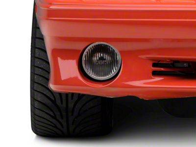 Axial Complete Replacement Clear Fog Light Glass Lens (87-93 GT, Cobra)