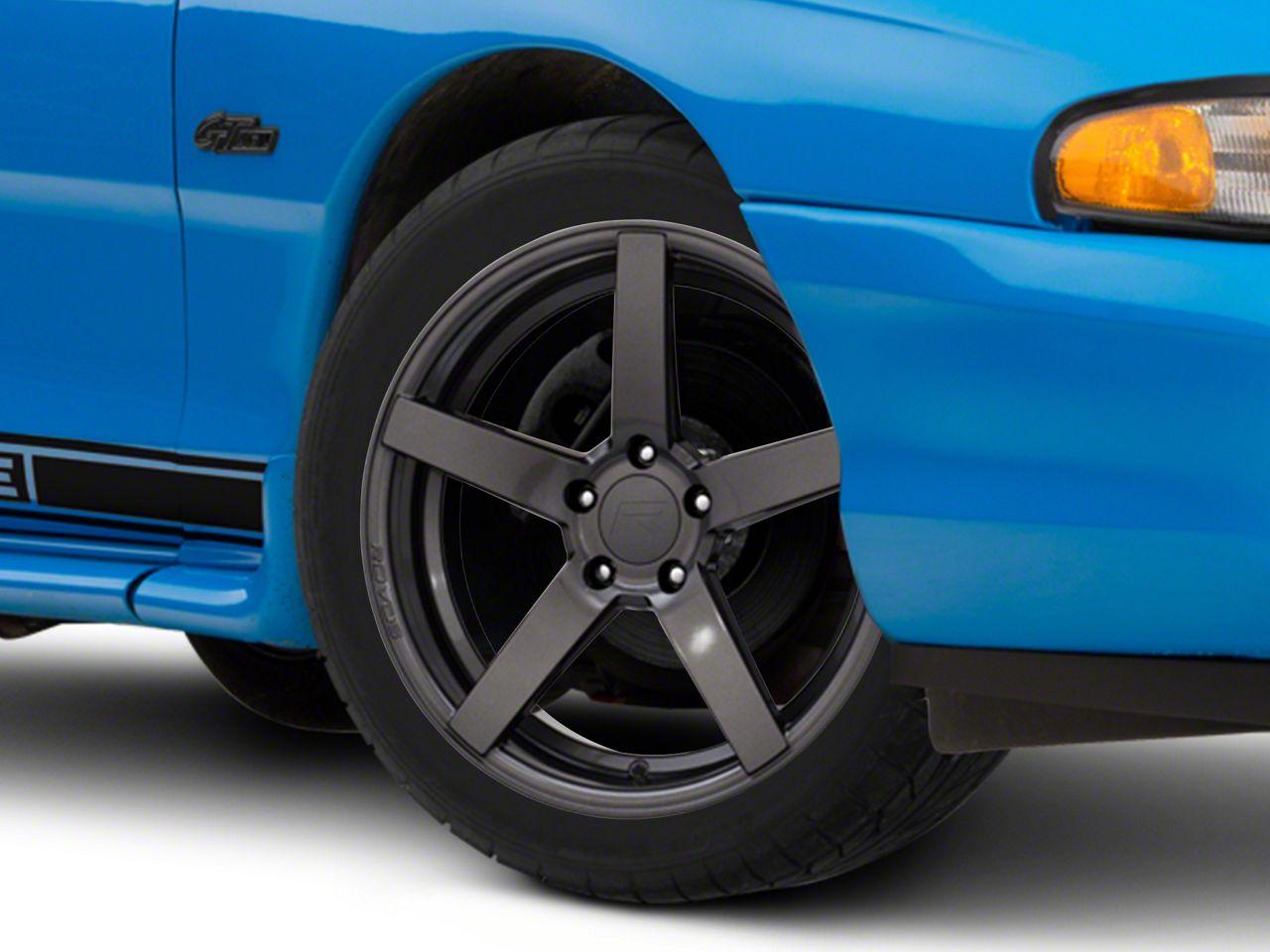 Rovos Durban Gloss Gunmetal Wheel - 18x9 (94-04 All)