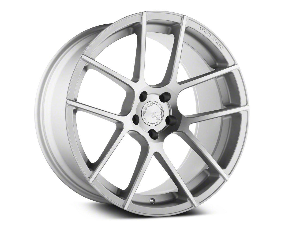 Avant Garde M510 Satin Silver Wheel - 20x10 - Rear Only (05-14 All)