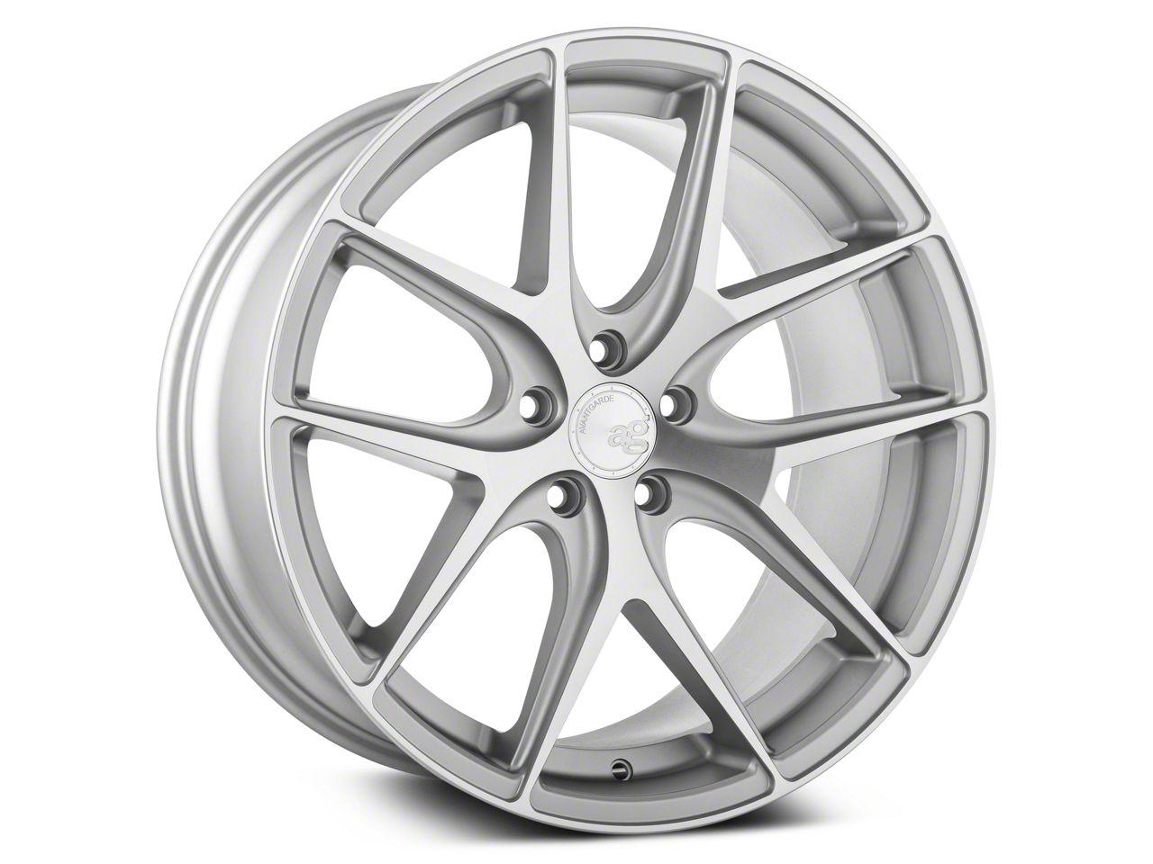 Avant Garde M580 Satin Silver Wheel - 20x10 - Rear Only (15-19 All)