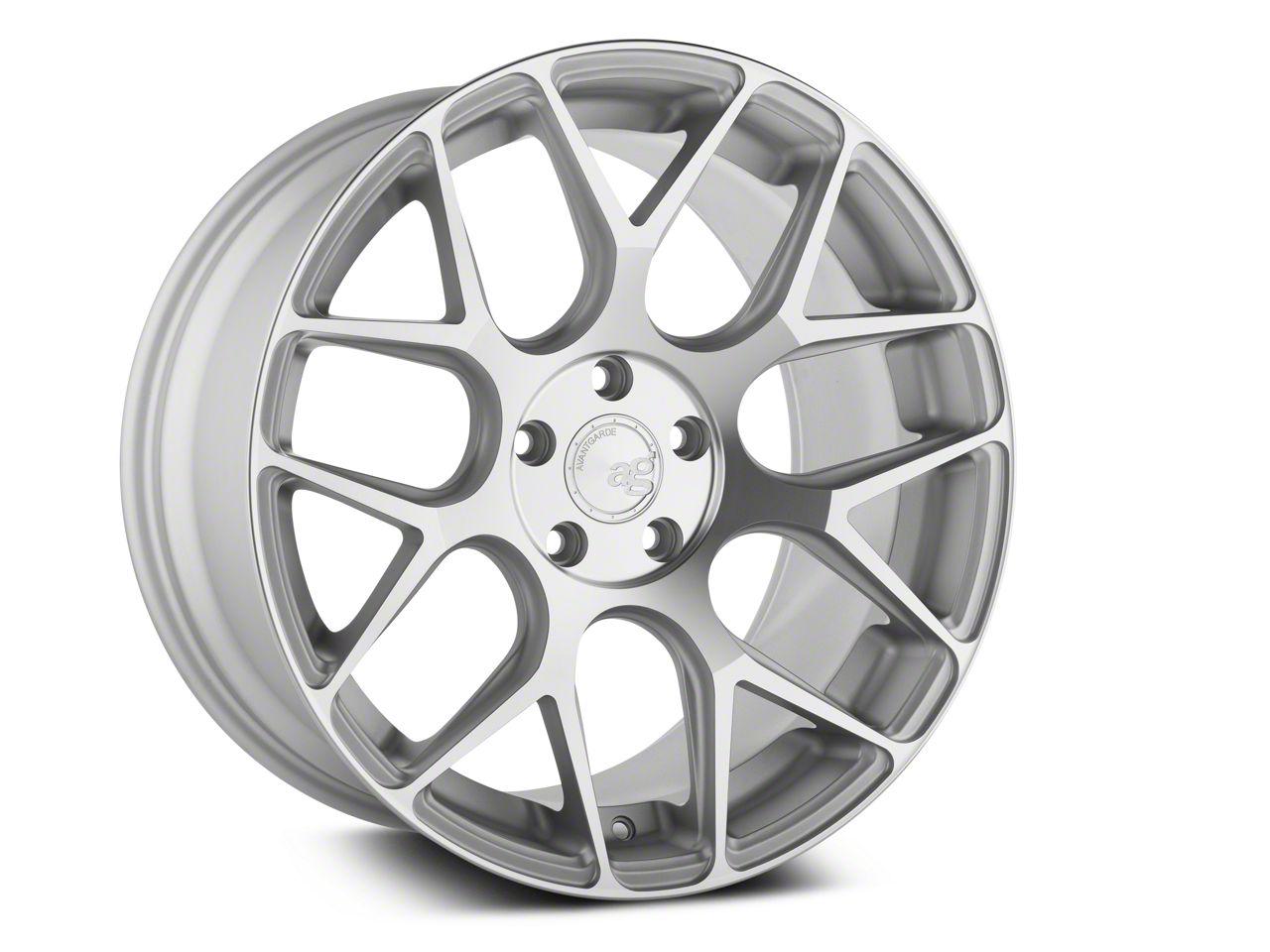 Avant Garde M590 Satin Silver Wheel - 20x10 - Rear Only (05-14 All)