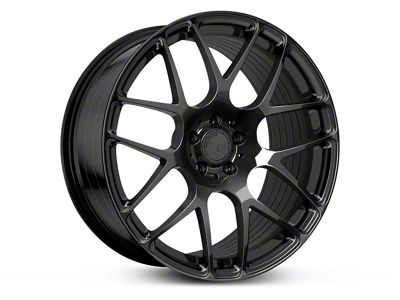 Avant Garde M610 Matte Black Wheel - 20x10 - Rear Only (15-19 All)