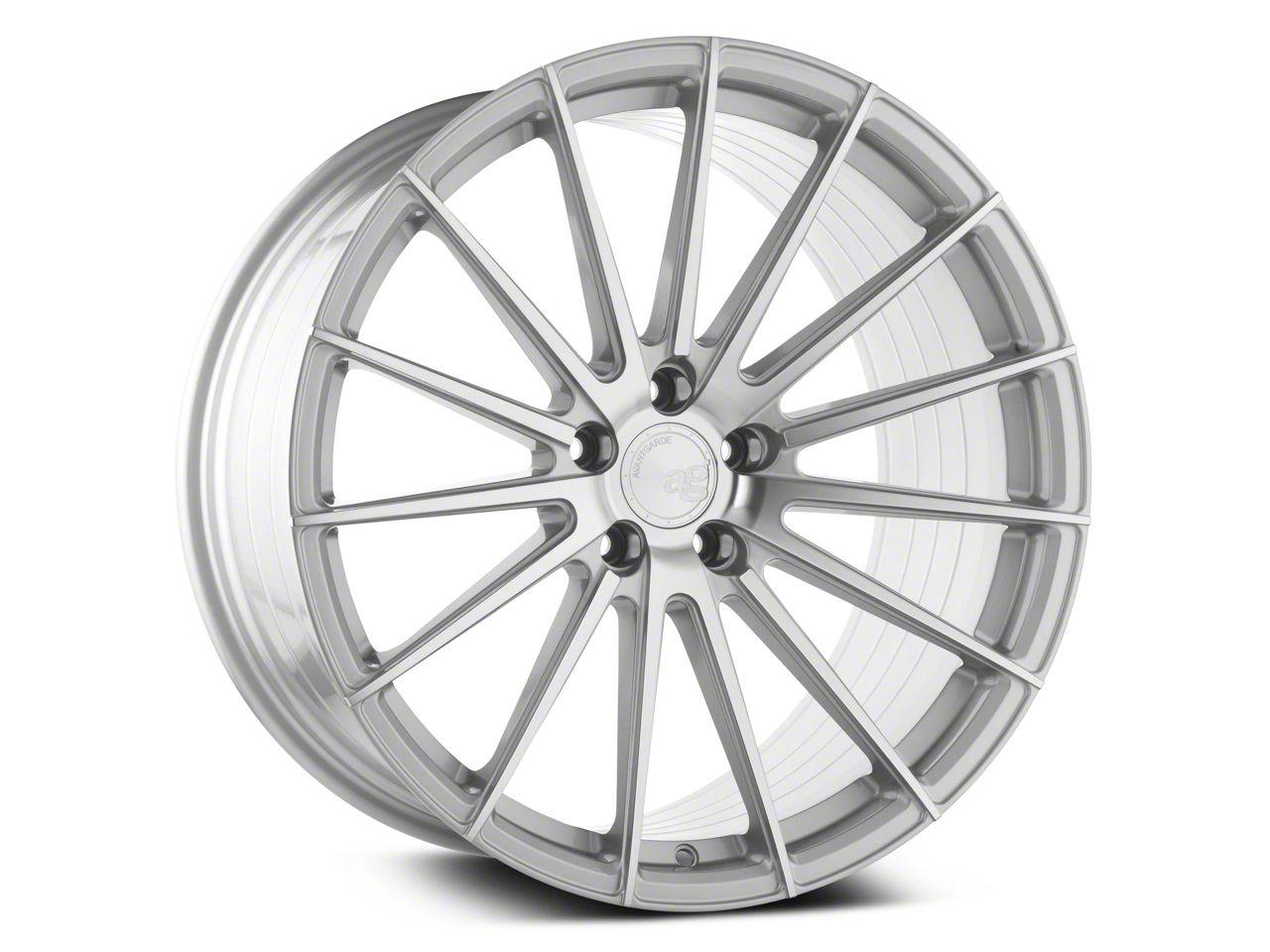 Avant Garde M615 Silver Machined Wheel - 19x9.5 - Rear Only (15-19 All)