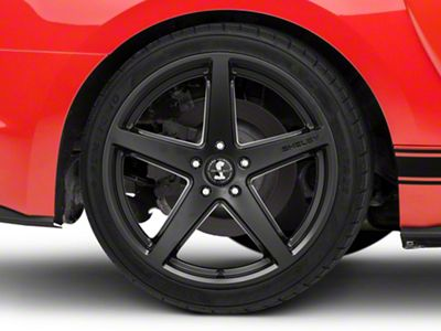 Shelby Style SB201 Satin Black Wheel - 19x10.5 - Rear Only (15-19 GT, EcoBoost, V6)