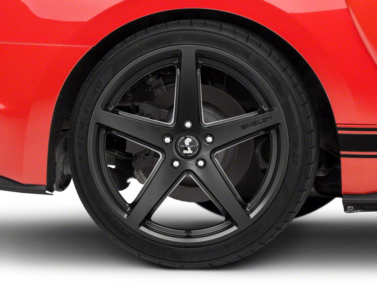 Shelby Style SB201 Satin Black Wheel - 19x10.5 (15-19 GT, EcoBoost, V6)