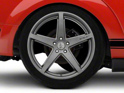 Shelby Style SB201 Charcoal Wheel - 20x10.5 - Rear Only (05-14 All)
