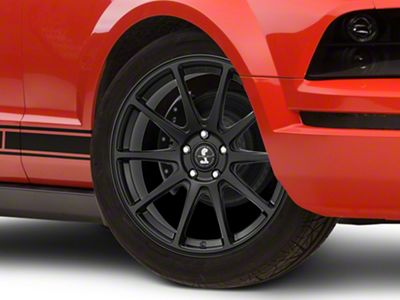 Shelby Style SB203 Satin Black Wheel - 19x9.5 (05-14 All)