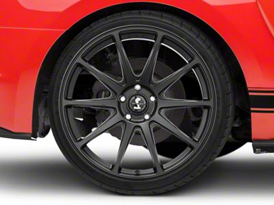 Shelby Style SB203 Satin Black Wheel - 20x10.5 - Rear Only (15-19 GT, EcoBoost, V6)
