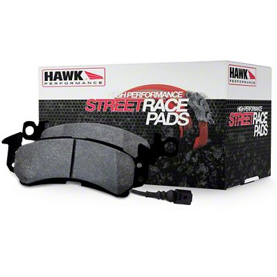 Hawk Performance Street/Race Brake Pads - Front Pair (87-93 5.0L)