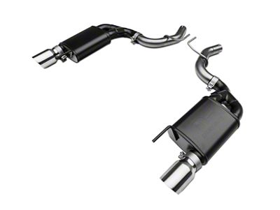 RTR Tactical Performance Street Spec Axle-Back Exhaust w/ Polished Tips (15-19 EcoBoost w/o Active Exhaust)
