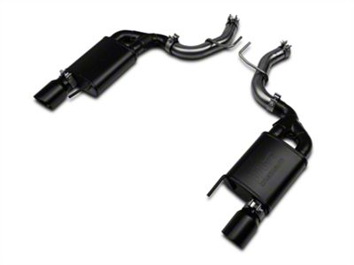 RTR Tactical Performance Street Spec Axle-Back Exhaust w/ Black Tips (15-18 EcoBoost, Excluding Convertible)