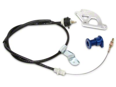 BBK Adjustable Clutch Cable, Quadrant & Firewall Adjuster Kit (96-04 All)