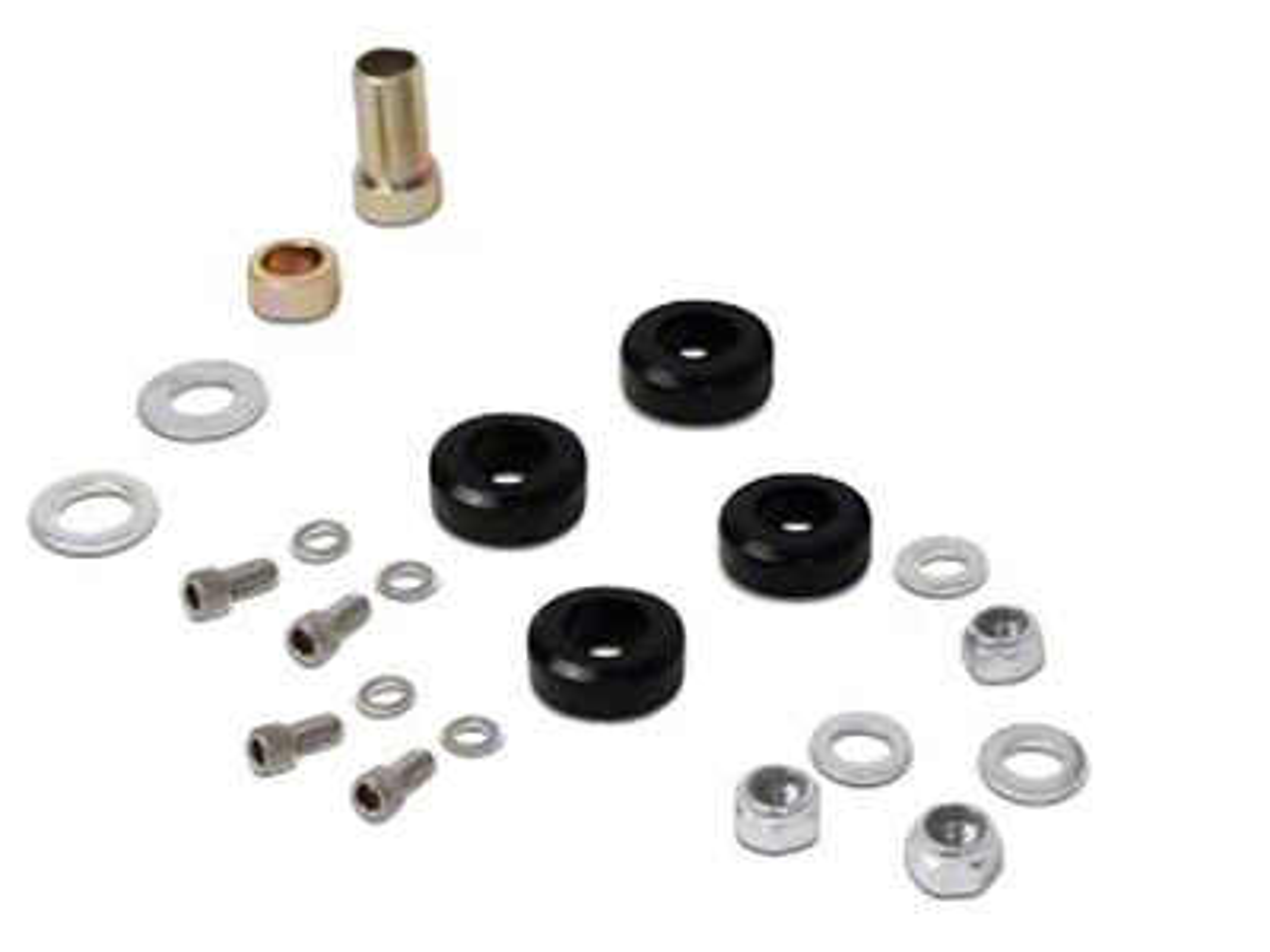 BBK Caster Camber Plate Hardware Kit (79-93 All)