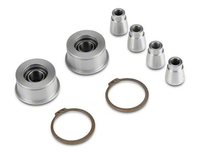 J&M Front Control Arm Spherical Caster Bushing - Clear (15-19 All)