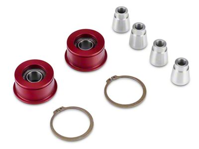 J&M Front Control Arm Spherical Caster Bushing - Red (15-19 All)
