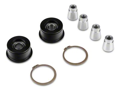 J&M Front Control Arm Spherical Caster Bushing - Black (15-19 All)