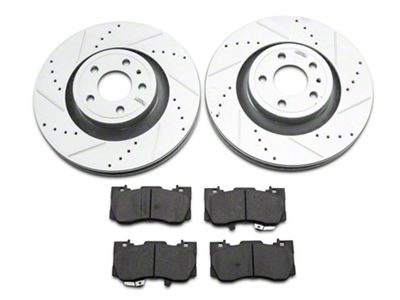 Power Stop Z23 Evolution Sport Brake Rotor & Pad Kit - Front (15-19 Standard GT, EcoBoost w/ Performance Pack)