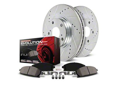 Power Stop Z23 Evolution Sport Brake Rotor & Pad Kit - Front (94-98 GT, V6)
