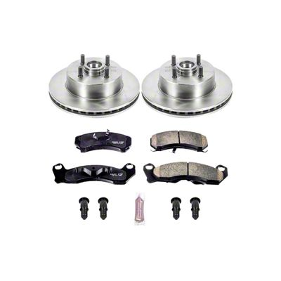 Power Stop OE Replacement Brake Rotor & Pad Kit - Front (87-93 5.0L)